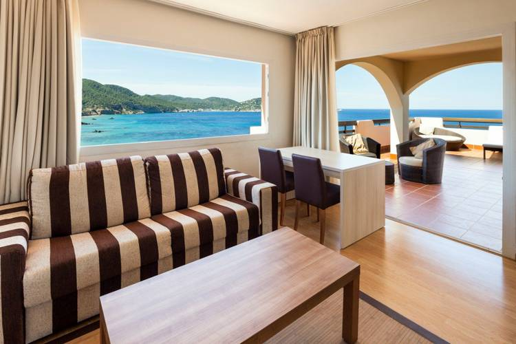 Panoramic grand junior suite invisa hotel club cala verde es figueral beach