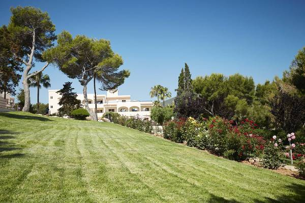 Outdoors Invisa Hotel Club Cala Blanca in Es Figueral Beach