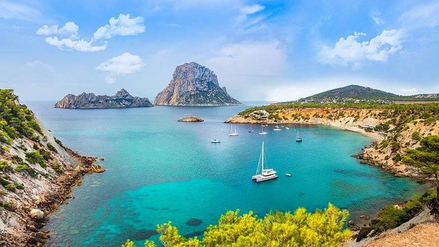 7 Things to Do in Ibiza: Playa es Figueral Invisa Hotels