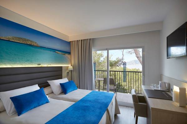 Superior Double Invisa Hotel Club Cala Blanca in Es Figueral Beach