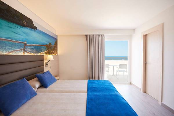 Superior Double Sea View Invisa Hotel Club Cala Verde in Es Figueral Beach