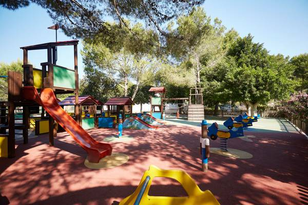 Adventure playground invisa hotel club cala verde es figueral beach