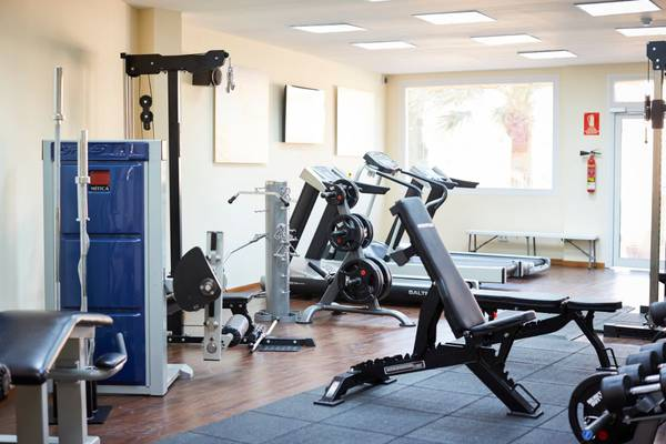 Gym invisa hotel club cala blanca es figueral beach