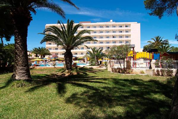 Panoramic view Invisa Hotel Ereso in Es Canar Beach