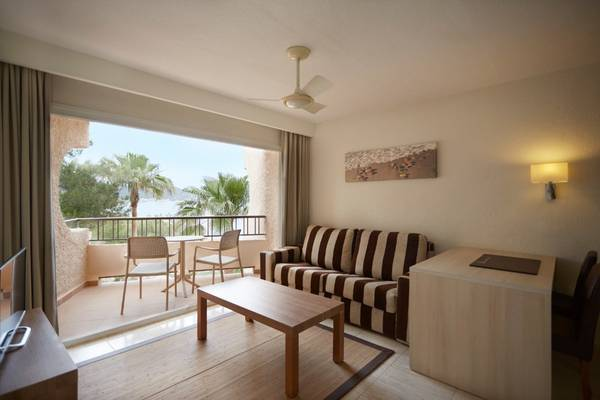 Junior Suite with Sea Views Invisa Hotel Club Cala Blanca in Es Figueral Beach